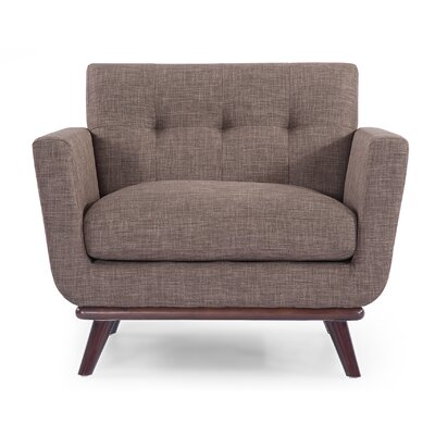 Luther Armchair Upholstery: French Press
