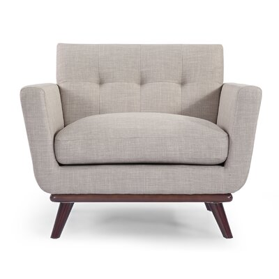 Luther Armchair Upholstery: Dove Gray