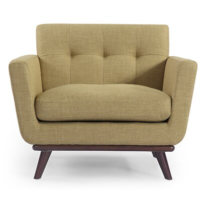 Luther Armchair Upholstery: Lemon Grass