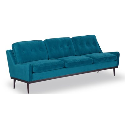 Agustin Midcentury Modern Sofa Upholstery: Poseidon