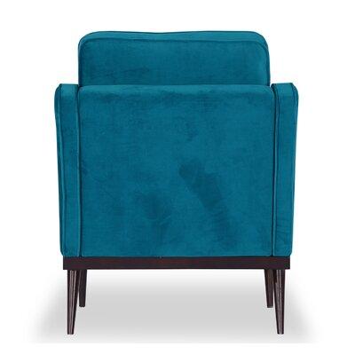 Agustin Midcentury Armchair Upholstery: Poseidon