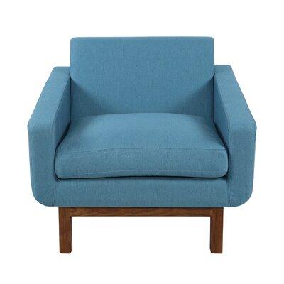 Stuart Mid-Century Armchair Upholstery: Urban Surf
