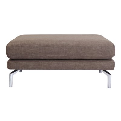 Tia Modern Loft Ottoman Upholstery: French Press