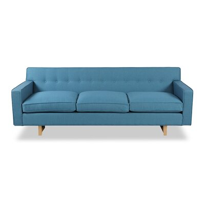 Dinger Mid Century Modern Classic Sofa Upholstery: Urban Surf
