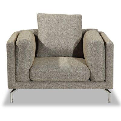 Tia Loft Armchair Upholstery: Oatmeal