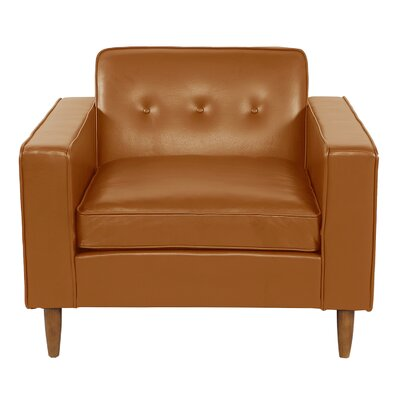 Potter Club Chair Upholstery: Tan