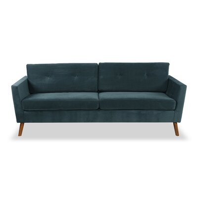 Vance Mid-Century Modern�Sofa Upholstery: Neptune Velvet