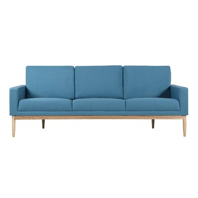 Stilt Danish Sofa Upholstery: Urban Surf Twill, Leg Color: Ash