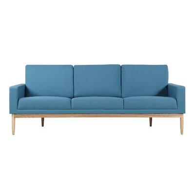Stilt Danish Sofa Upholstery: Urban Surf Twill, Leg Color: Ash