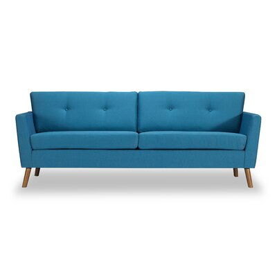 Vance Mid-Century Modern�Sofa Body Fabric: Urban Surf Twill