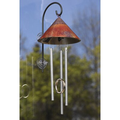 Window Sprite Solar Indoor Wind Chime Color: Blue / Purple