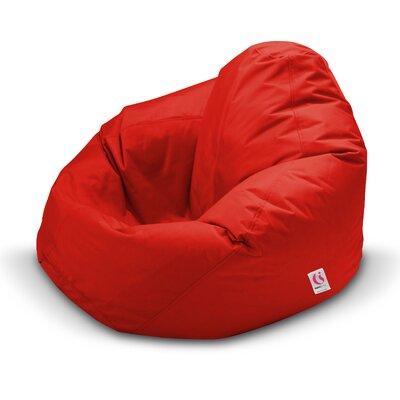 Monsoon Bean Bag Chair Color: Red