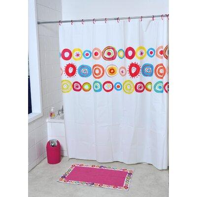 Vitamine Printed Shower Curtain
