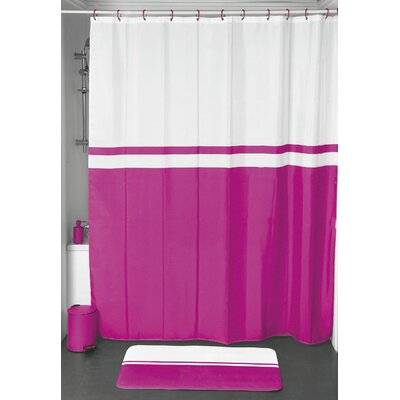 Shower Curtain Color: Fuchsia