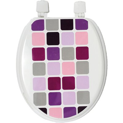 Mosaic Elongated Toilet Seat