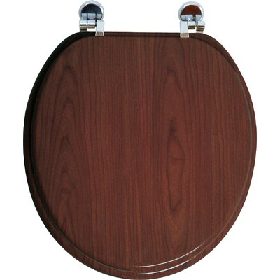 Elongated Toilet Seat Finish: Wenge