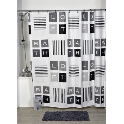 Peace and Loft Printed Shower Curtain