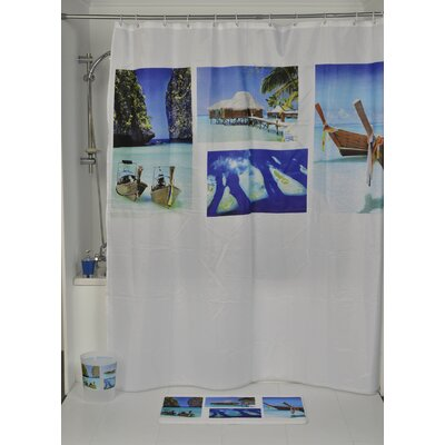 Paradise Printed Shower Curtain