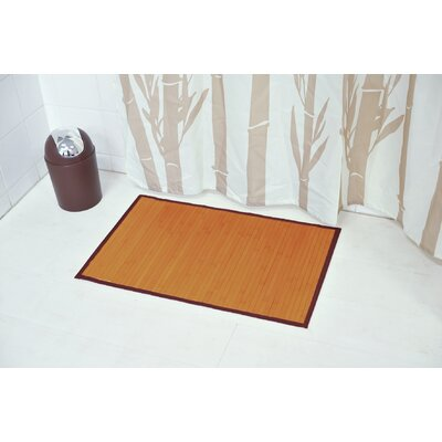 Anti Slippery Bath Mat Color: Light Brown