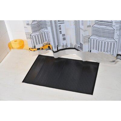 Anti Slippery Bath Mat Color: Black