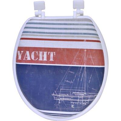 Yacht Club Round Toilet Seat