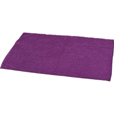 Soft Luxurious Ball Bath Rug Size: 24 x 36, Color: Purple