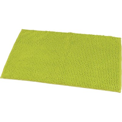 Soft Luxurious Ball Bath Rug Size: 24 x 36, Color: Lime Green