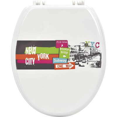Urban NYC Elongated Toilet Seat