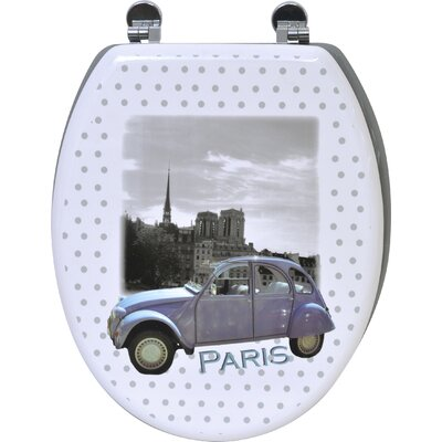 Paris Romance Elongated Toilet Seat