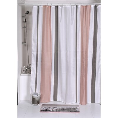 Seaside Printed Shower Curtain