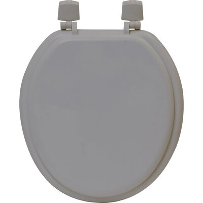 Round Molded Toilet Seat Color: Taupe