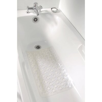 Non Skid Bath Mat Color: Clear