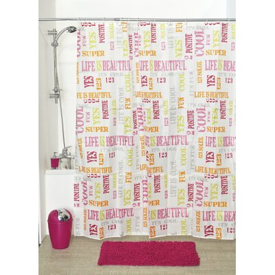 Cool Printed Shower Curtain