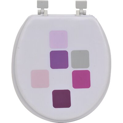 Mosaic Round Soft Toilet Seat