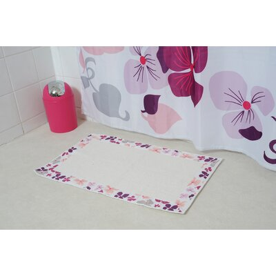 Softies Printed Border Bath Rug