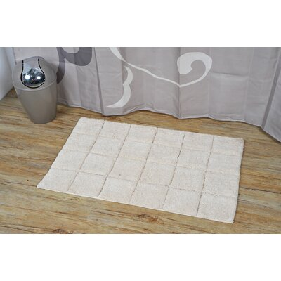 Prestige Rectangular Soft Bath Rug Color: Beige