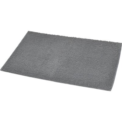 Soft Luxurious Ball Bath Rug Color: Gray, Size: 24 x 36