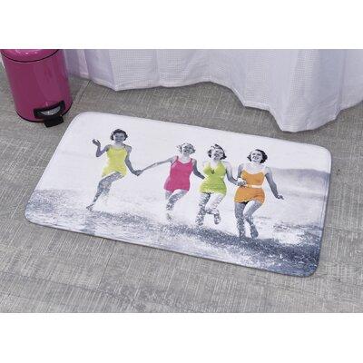 Printed Bath Rug Size: 23.62 x 35.43