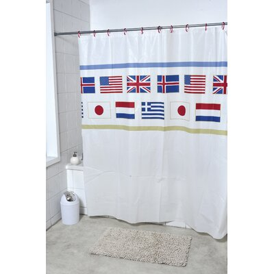 Oslo Printed Shower Curtain