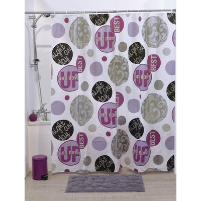 Night and Day Printed Shower Curtain