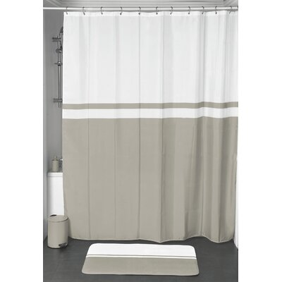 Shower Curtain Color: Taupe