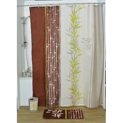 Jade Printed Shower Curtain
