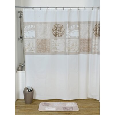 Paris Romance Printed Shower Curtain