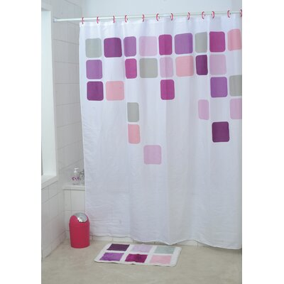 Mosaic Printed Shower Curtain