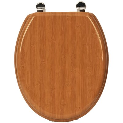 Elongated Toilet Seat Finish: Bamboo