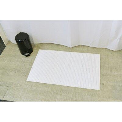 Anti Slippery Bath Mat Color: White