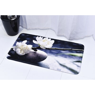 Spa Printed Bath Rug Size: 17 x 29.5