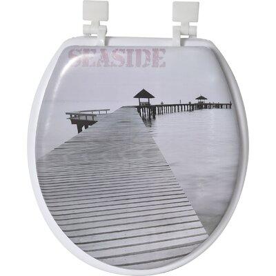 Seaside Round Toilet Seat