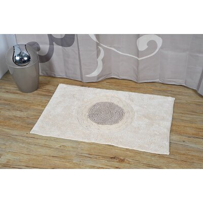 Prestige Rosa Soft Bath Rug Color: Beige