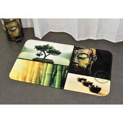 Madurai Printed Bath Rug Size: 17 x 29.5